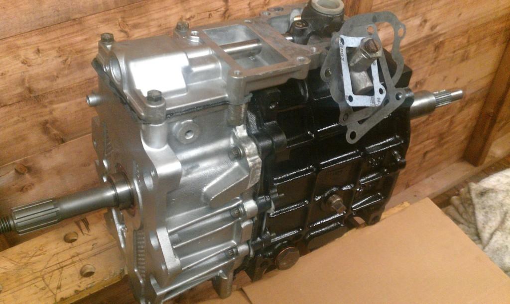 Land Rover LT77 Gearbox Oil Change