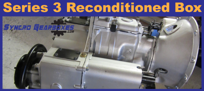 Land Rover Series 3 Reconditioned Gearbox