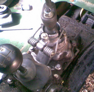 Defender Gearbox Shift problem