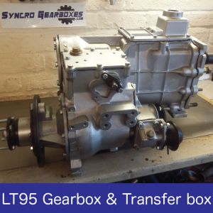 LT95 Gearbox and Transfer Box